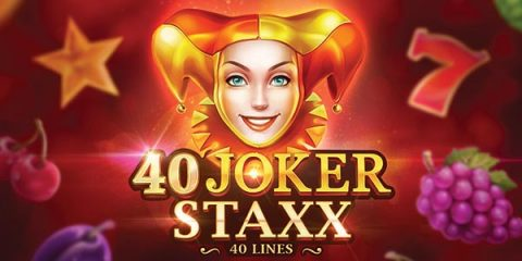 Screenshot website 40 Joker Staxx