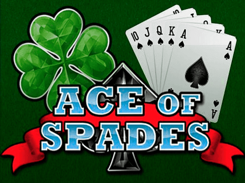 Screenshot website Ace of Spades