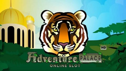 Screenshot website Adventure Palace