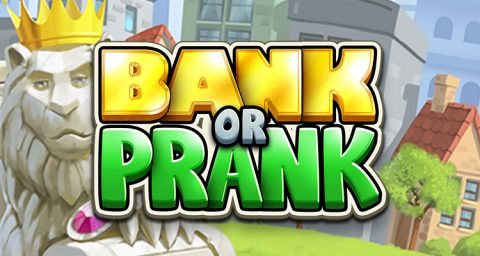 Screenshot website Bank or Prank