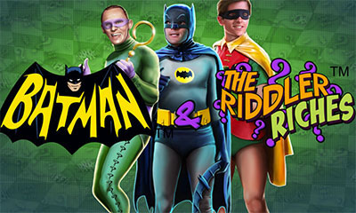 Screenshot website Batman & The Riddler Riches