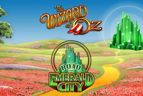 Screenshot website Wizard of Oz Road to Emerald City